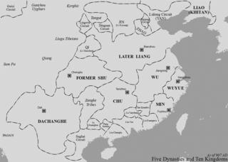 Wang Chuzhi Tang/Five Dynasties warlord