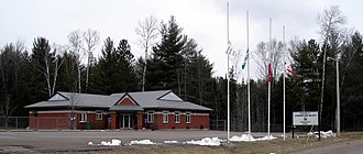 Laurentian Valley - The township office on Witt Road.