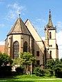Lautenbach, Wallfahrtskirche Mariä Königin, Ansicht von Nordosten 3.jpg