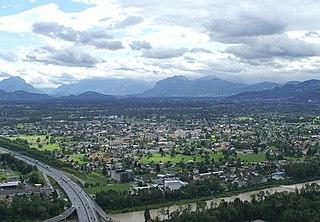 Lauterach Place in Vorarlberg, Austria