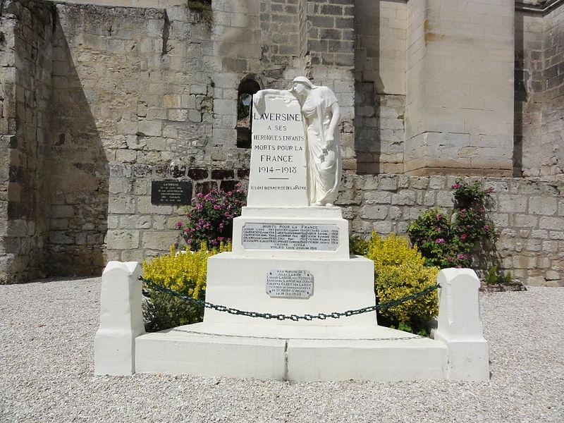 Laversine (Aisne) monument aux morts