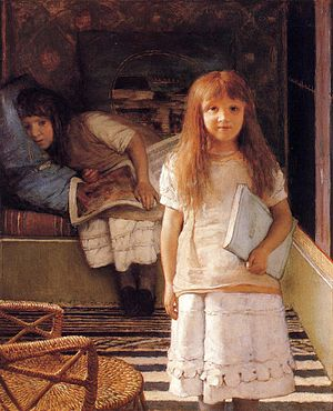 Anna Alma-Tadema - Lawrence Alma-Tadema, This is Our Corner, also known as Laurense and Anna Alma-Tadema, 1873, Van Gogh Museum, Amsterdam