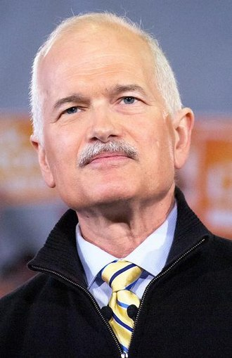 New Democratic Party - Jack Layton was the first leader of the NDP to become Leader of the Official Opposition.