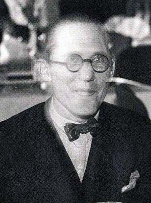 Le Corbusier - Le Corbusier in 1933