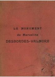 Le Monument de Marceline Desbordes-Valmore