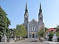 Le pont et l'église de Trnovo (Ljubljana) (9397818425).jpg