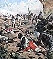 Le ultime battaglie africane (1894) La morte di Bath Agos.jpg