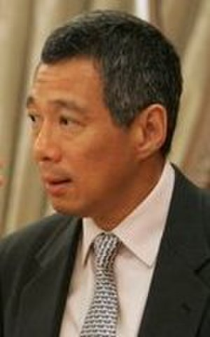 Cabinet of Singapore - The Cabinet is headed by the Prime Minister, Lee Hsien Loong, photographed here on 21 November 2004