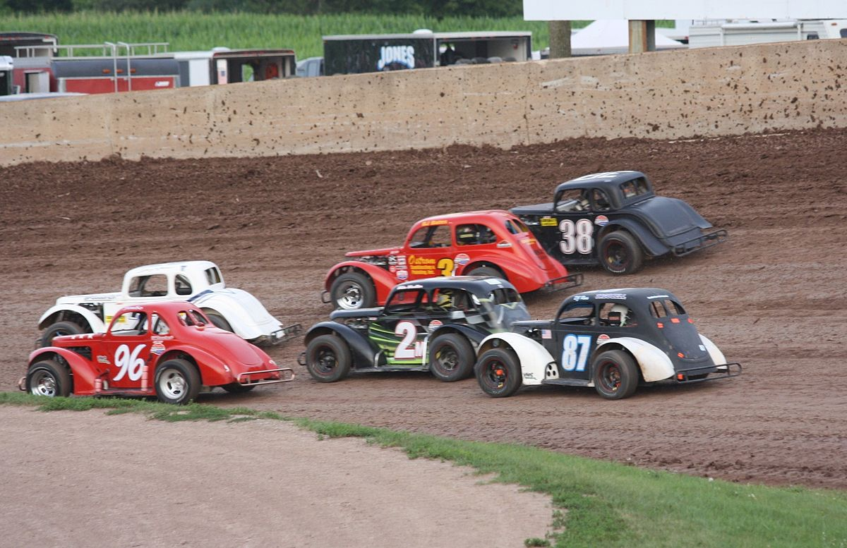 Rc Late Model Dirt Oval Painted Bodies