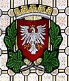Leipzig Reichsgericht Sitzungssaal Wappen Frankfurt.jpg