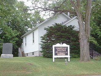Lemonville, Ontario - Lemonville United Church