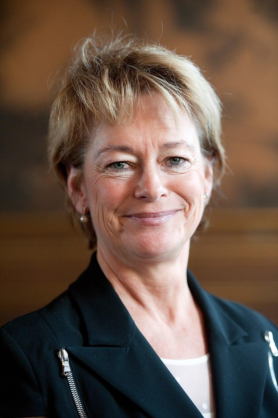 Lena Adelsohn Liljeroth kulturminister Sverige
