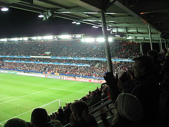 Trondheim bid for the 2018 Winter Olympics - Lerkendal stadion was proposed as the venue for the opening and closing ceremonies