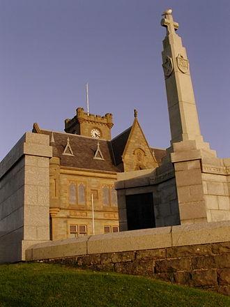 Lerwick Town Hall - Lerwick Town Hall exterior