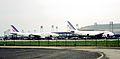 Les deux avions de ligne Airbus A300 F-BVGE et F-BVGB d'Air France.jpg