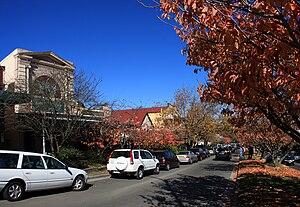 Leura, New South Wales - Leura's main street, Leura Mall, looking south-east