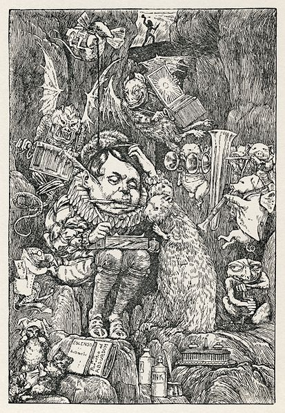 File:Lewis Carroll - Henry Holiday - Hunting of the Snark - Plate 7.jpg