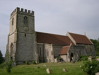 Lewknor village and civil parish in South Oxfordshire district, Oxfordshire, England