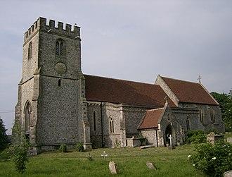 Lewknor - Image: Lewknor Church
