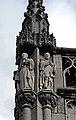 Liège, Palais Provincial06, statues de Lambert Lombard, Jean Chapeauville et François Borset.JPG
