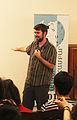 Liam Wyatt on Aghveran WikiCamp 2015 02.jpg