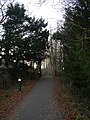 Lights on the railway path, Caton - geograph.org.uk - 639686.jpg