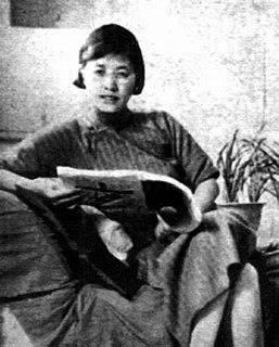 Ling Shuhua Chinese writer