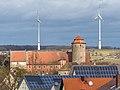 Lisberg Burg Windräder Solar power PC313027.jpg