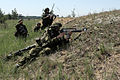 Lithuanian soldiers conduct actions on contact during a situational training exercise in Adai, Latvia, June 5, 2013, during exercise Saber Strike 2013 130605-O-ZZ999-002.jpg