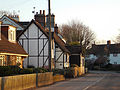 Little Berkhamsted, Hertfordshire, village street 03 - houses.jpg