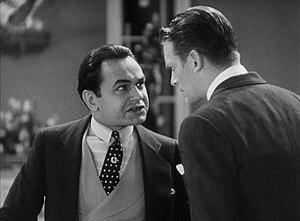 Little Caesar (film) - Rico confronts Joe.