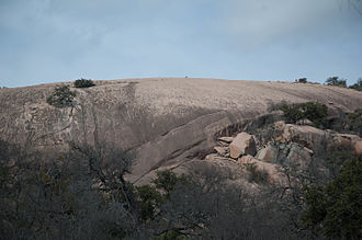 Enchanted Rock - View of Little Rock
