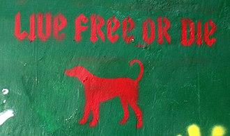 Live Free or Die - Live Free or Die, as seen in Edinburgh, Scotland
