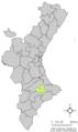Localització d'Alcosser de Planes respecte el País Valencià.png