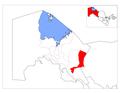 Location of Ellikqal'a District in Qoraqalpog'iston.png