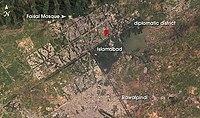 Location of Lal Masjid in Islamabad.jpeg
