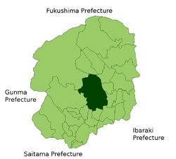 Locator Map of Utsunomiya in Tochigi Prefecture.png