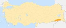 舍尔纳克省--Locator map-Şırnak Province