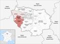 Locator map of Arrondissement Rambouillet 2019.png