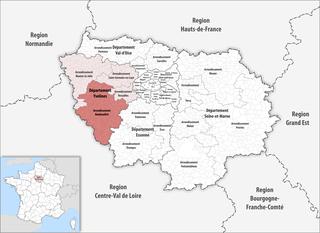 Arrondissement of Rambouillet Arrondissement in Île-de-France, France