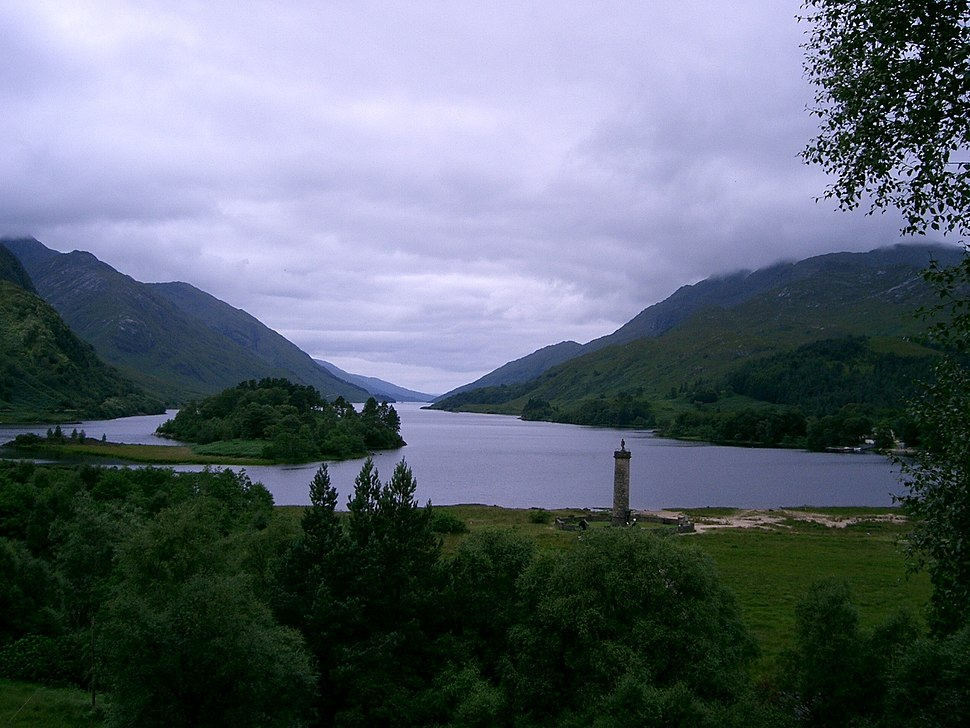 Loch Shiel - Glenfinnan bay (Scotland)