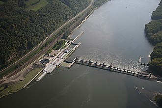 Lock and Dam No. 9 - Lock and Dam No. 9