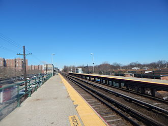 Locust Manor (LIRR station) - Locust Manor Station in March 2015.