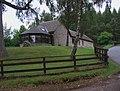 Lodge by roadside - geograph.org.uk - 936262.jpg