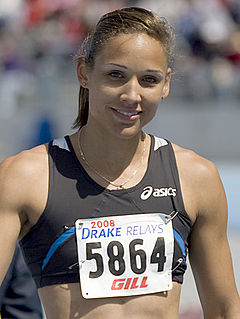 Lolo Jones American athlete