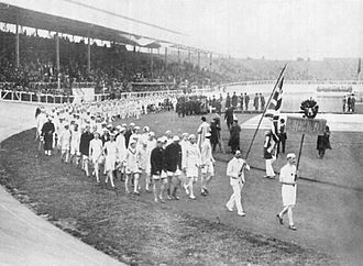 Kynaston Studd - Studd at the 1908 Olympic Games in London