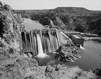 Long Lake Dam - Image: Long Lake Dam