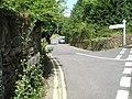 Looking down Villes Lane - geograph.org.uk - 933802.jpg