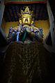 Lord Buddha statue at Tsemo castle.jpg