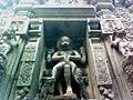 Lord narasimha rock statue backyard simhachalam temple.jpg